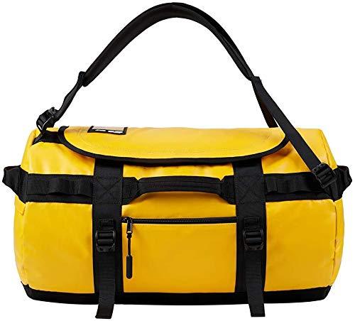 KALIDI Reisetasche Transporttasche Duffle Bag Rucksack wasserfeste Sporttasche 50L/70L/100L (Gelb, 90L)