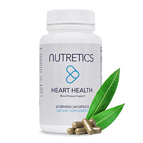 Nutretics Quantum 13 High Blood Pressure Supplement - Hawthorn Berry Capsules, Vitamin Blend & Natural Antioxidant Supplement | Blood Pressure & Cholesterol Support Plus Heart Health | 60 Capsules