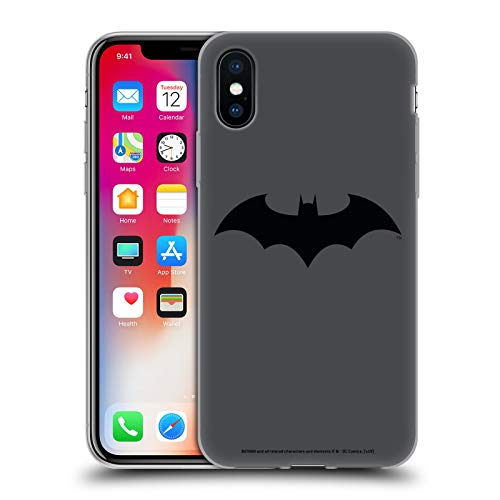 Head Case Designs Officiel Batman DC Comics Hush Logos Coque en Gel Doux Compatible avec Apple iPhone X/iPhone XS
