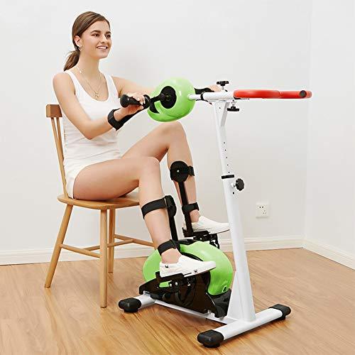 NACHEN Bicicleta de Ejercicios de rehabilitación eléctrica, ejercitador de Pedal motorizado para piernas y Brazos con Monitor LCD, Equipo de Entrenamiento de rehabilitación de hemiplejia