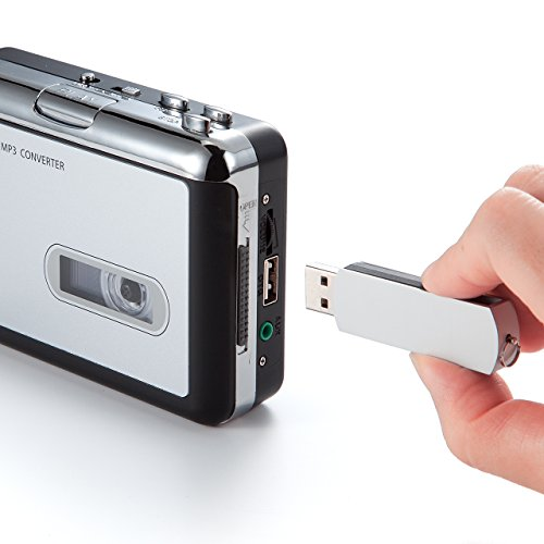 サンワダイレクトカセットテープMP3変換プレーヤーデジタル化USB保存400-MEDI016
