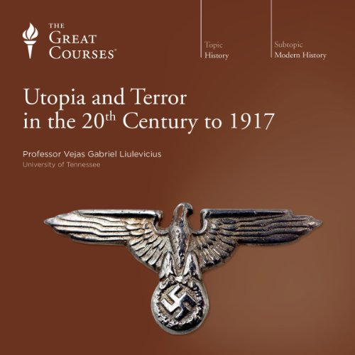 Utopia and Terror in the 20th Century audiobook cover art
