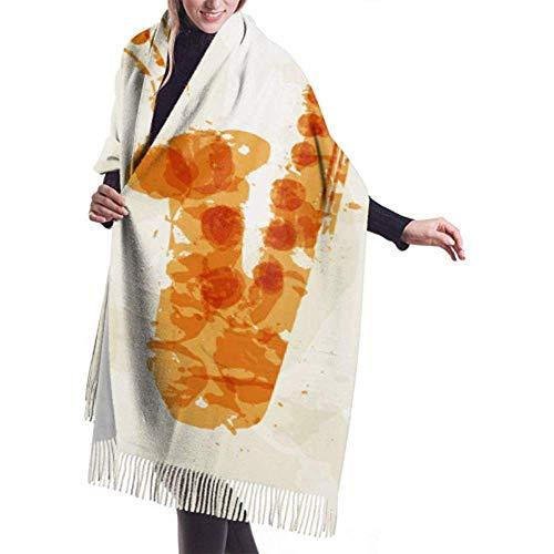 Womens Winter Grote Sjaal Cashmere Sjaal Voel Abstract Afbeelding Saxofoon Veelkleurige Spots Sjaal Stijlvolle Sjaal Wraps Zachte Warm Deken Sjaal Voor Vrouwen 27x78 inch