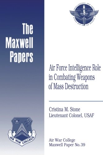 Air Force Intelligence Role in Combating Weapons of Mass Destruction: Maxwell Paper No. 39