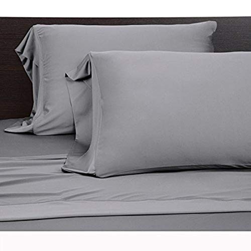COOLEX Ultra-Soft Bed Sheet Set - Moisture Wicking, Wrinkle, Fade, Stain Resistant (Queen, Graphite)