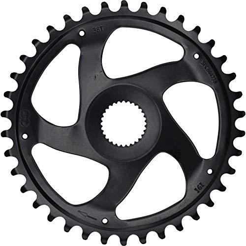 KMC Kettenblatt für Bosch E-Bike Gen 4 38 Zähne | schwarz | Lochkreis: Direct Mount mm | Ausführung: