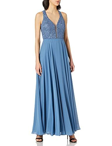Vera Mont Damen 0140/4825 Cocktailkleid, Hushed Blue, 44