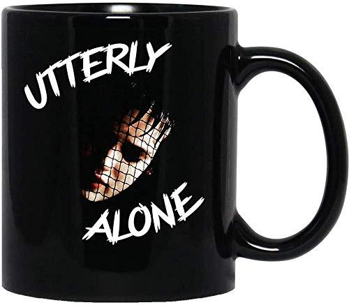 N\A Lydia Deetz Beetlejuice Winona Ryder Tim Burton Horror Película de Halloween Tazas de café de cerámica Tazas