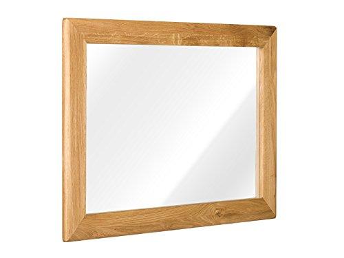 massivum Spiegel Keno 100x70x3 cm Eiche braun geölt