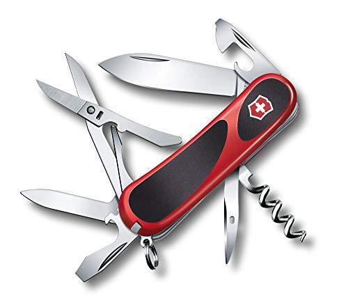 Victorinox Evolution 14 Taschenmesser (14 Funktionen, Korkenzieher, Schere) rot/schwarz