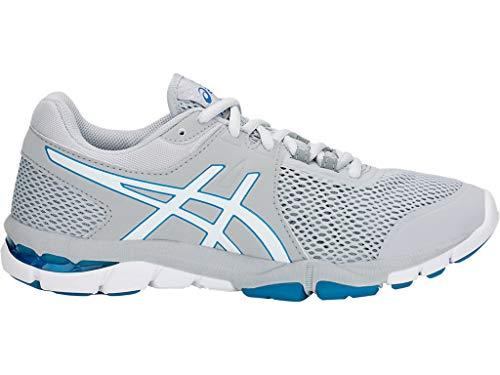 ASICS Women's Gel-Craze TR 4 Cross-Trainer Shoe (10 B(M) US, Mid Grey/White)