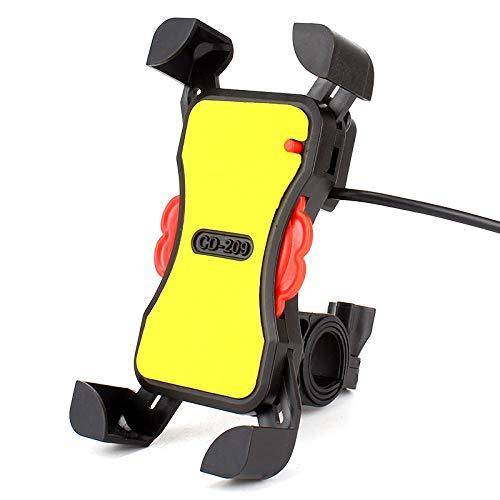 Mobiele telefoonhouder voor motorfiets, mountainbike, elektrische auto, voertuig, navigatieframe, elektrisch waterdicht