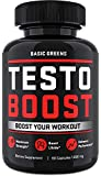Testosterone Booster for Men – Male Enhancing Pills Testosterone Booster - Test Booster Formula Develop Powerful Muscles, Energy, Endurance, Recovery, and Lean Muscle (60 Capsules)