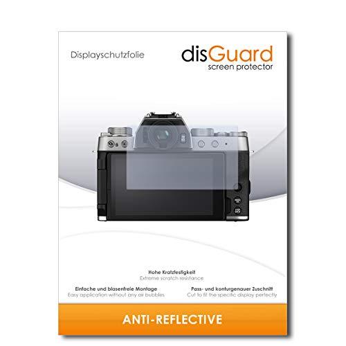 disGuard displaybeschermfolie [Anti-reflex] compatibel met Fujifilm X-T200 [2 stuks] ontspiegelend, mat, antireflecterend, extreem krasbestendig, anti-vingerafdruk - pantserglas folie, beschermfolie