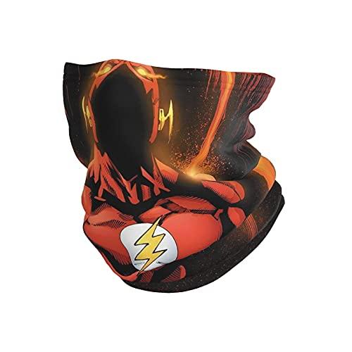 asdew987 The Flash Dc - Máscara de tubo transpirable para el cuello, para la cabeza, para la cabeza de la motocicleta