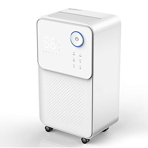 Best Bargain HQYXGS Dehumidifier, Portable Mini Home Dehumidifiers High Power Bedroom Basement Small...