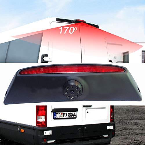 Berlingan Kompatibel für VW Passat Skoda Golf 6 EOS Lupo Polo Seat Leon Amarok Bremsleuchte Rückfahrkamera