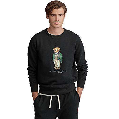 Polo Ralph Lauren Heren sweatshirt met Polo Bear, Rl Black, M