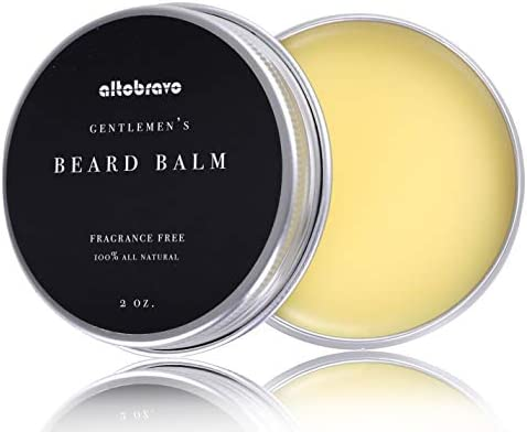Beard Butter Balm Wax All Natural Premium Unscented Organic Oils and Beeswax Hydrates Softens product image