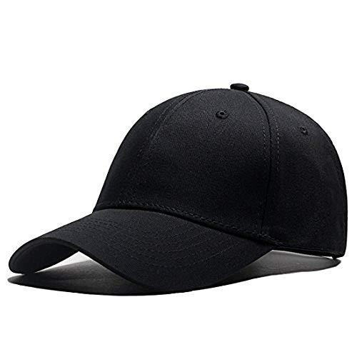 LAOWWO Baseball Cap,Hombre Mujer Golf Tennis Running Cap Algodón Ajustable Sombrero Deportivo para Actividades Al Aire Libre