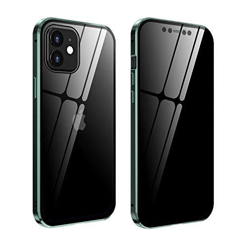 FHZXHY - Carcasa de cristal para iPhone 12 y iPhone 12 Pro...