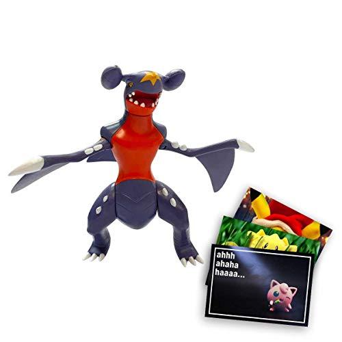 Lively Moments Pokemon Battle Pack Actionfigur & Funktion - Knakrack + Exklusive GRATIS Grußkarte