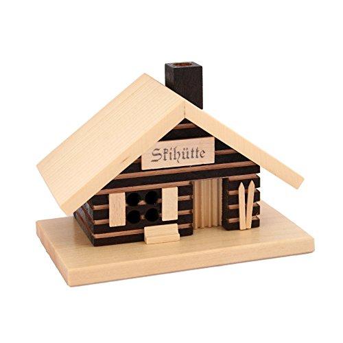KNOX - Skihütte Räucherhaus aus Holz