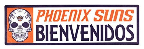 Applied Icon, NBA Unisex NBA Bienvenidos Outdoor Step Graphic Aufkleber, Unisex, NBA, Orange, 6