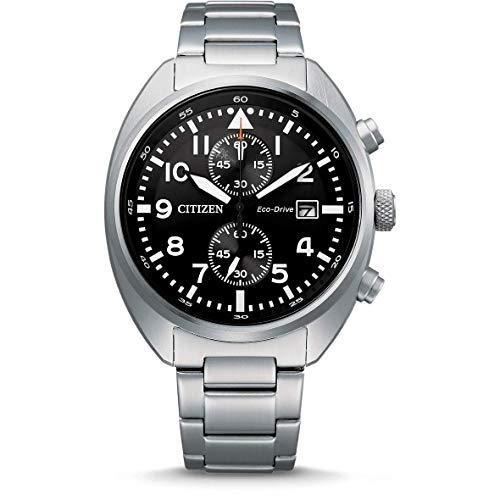 CITIZEN Reloj Analógico para Hombre de Eco-Drive con Correa en Acero Inoxidable CA7040-85E