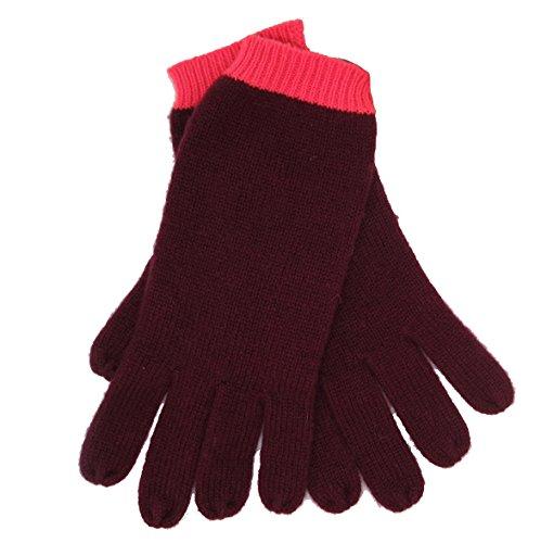 CODELLO 32098309 D09 [36] Poetry Grunge Knit Handschuhe - bordeaux (COL 12)