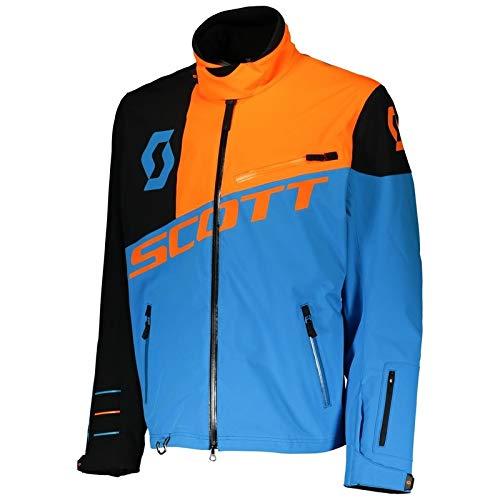 Scott MX Shell Pro - Giacca da uomo, taglia M, colore blu/arancione fluo
