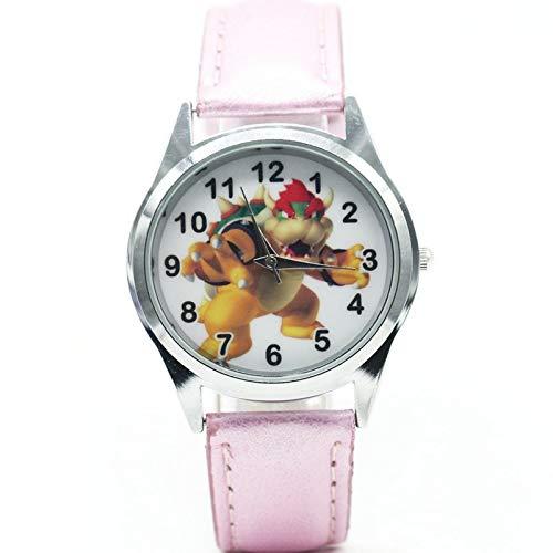 XINTENG Mario Bros horologe Mario Bros Bowser reloj cuarzo niños deportes moda dibujos animados reloj pulsera niño estudiantes reloj