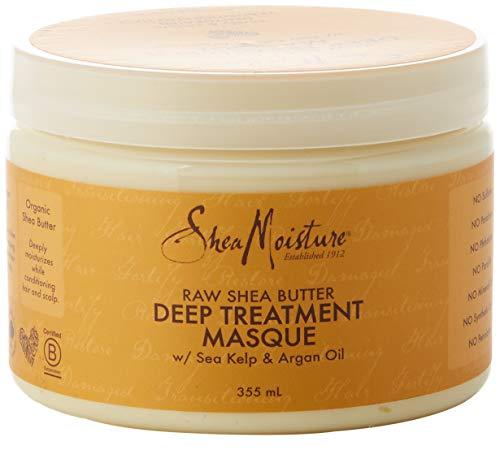 Shea Moisture, maschera trattamento intensivo al burro di karité puro, 355 ml