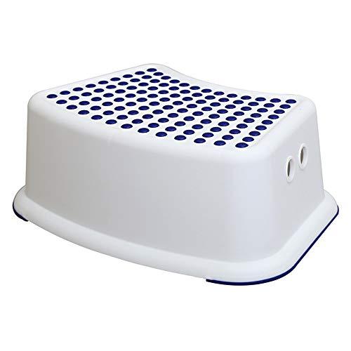 Tabouret Pliant Boys Blue Step Stool - Idéal pour la Formation de Pot, Salle de Bains, Chambre à Coucher, Salle de Jeux, Cuisine et Salon Parfait pour Votre Maison. escabeau pour Enfants