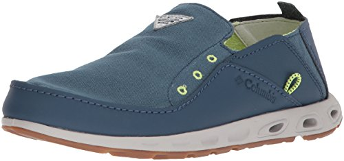 Columbia PFG Men's Bahama Vent PFG Boat Shoe, Whale, Fission, 7 Regular US