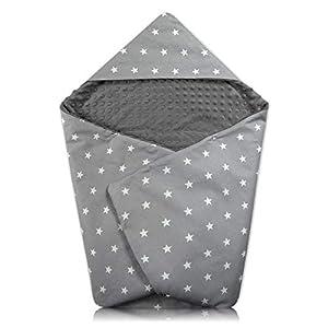 Manta para bebé– Manta Universal para bebé, por Ejemplo, para Maxi Cosi Buggy Asiento de Coche Minky algodón Certificado…