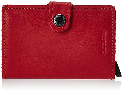Secrid Original Miniwallet Börse mit RFID Schutz 6.5 cm red-red