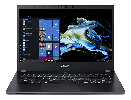 "Acer TravelMate P6 Business Laptop, 14"" FHD IPS, Intel Core i5-8265U, 8GB DDR4, 256GB SSD, 20 Hrs Battery, Win 10 Pro, TPM 2.0, Mil-Spec, Fingerprint Reader, TMP614-51-54MK"