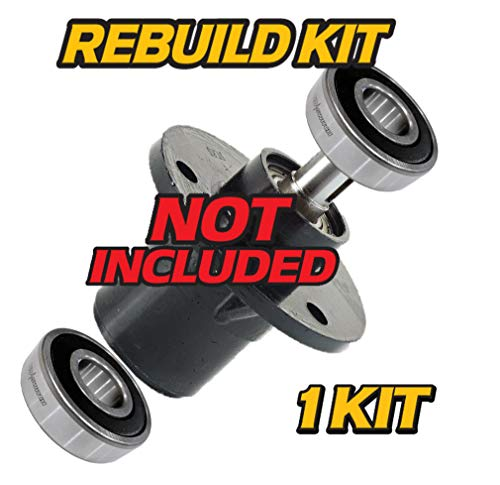 HD Switch (2 Pack) Deck Blade Spindle Bearing Kit Replaces Bush Hog for Models: TD1500 TD1700 ATH600 ATH720 FTH480 FTH600 FTH720 EFM480 EFM600 RDTH60 RDTH72, Bushhog