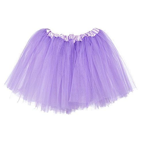 My Lello Little Girls Tutu 3-Layer Ballerina Light Lavender (10 mo - 3T)