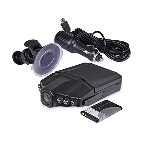 YESS Dash CAM Car Camera DVR 270 Grados Whirl Dash CAM LED 2.4 Pulgadas Vehículo Road Dash Video Recorder Best Service