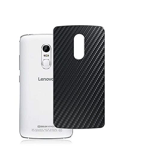 Vaxson 2 Stück Rückseite Schutzfolie, kompatibel mit Lenovo Vibe X3 c78, Schwarz Backcover Skin Cover Haut [nicht Bildschirmschutzfolie Hülle Hülle ]