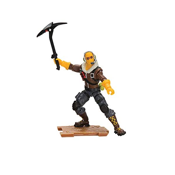 Jazwares-Fortnite figura Raptor (Toy partner FNT0014) coleccionables Teknique, multicolor, talla única , color/modelo… 3