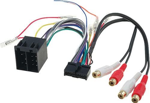 Sound-way Adapter Kabelbaum ISO kompatibel mit Autoradio Clatronic 20 pin