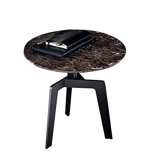 Mesa auxiliar móvil, mesas, muebles / mesas auxiliares de mármol, mesa auxiliar redonda para sofá, mesa de aperitivos, mesita de noche para dormitorio, mesa de centro para balcón, mesa de centro de 19