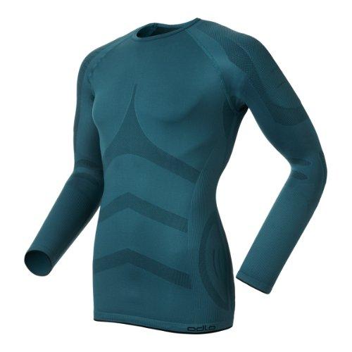 Odlo Shirt Evolution X-WARM Funktions Sportunterwäsche. Ski, Outdoor, Biken, Running. Blue. Gr. XL