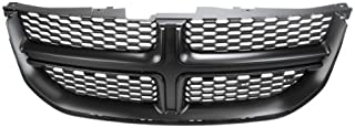 CarPartsDepot, Front Grille Grill New Painted Dark Gray Black Assembly, 400-172179-GY CH1200340 68100689AA
