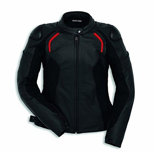 Ducati Dainese Lederjacke Stealth C2 Damen schwarz Größe 42