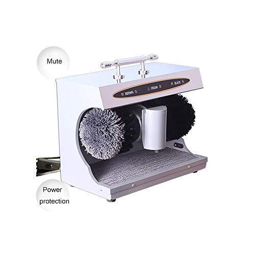 XSJZ Máquina de Limpieza de Zapatos, Sensor Automático Sensor de Limpieza Y Abrillantador de Zapatos Máquina de Limpieza de Calzado con Interruptor (3 Colores Opcionales) pulidor de Zapatos eléctrico