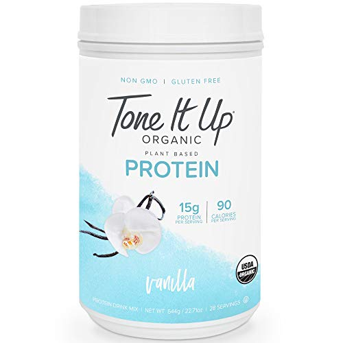 Tone It Up Plant Based Vanilla Protein Powder - Organic...
